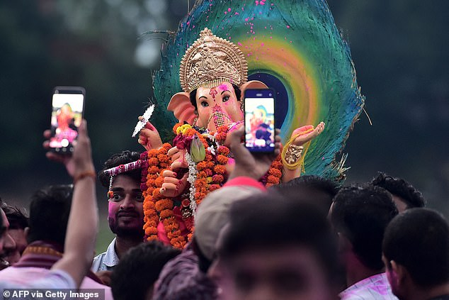 Running from September 10 to 19, Ganesh Chaturthi celebrates Ganesh's birth with fasting and prayers, followed by feasts, martial arts exhibitions, and a public procession