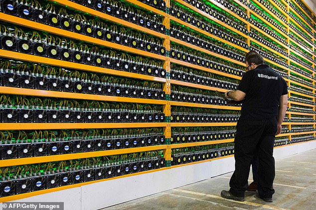 Around the world warehouses, or 'farms,' are crammed with toaster-sized processors assigned to solve complex math problems and generate cryptocurrency coins. The computers quickly become obsolete