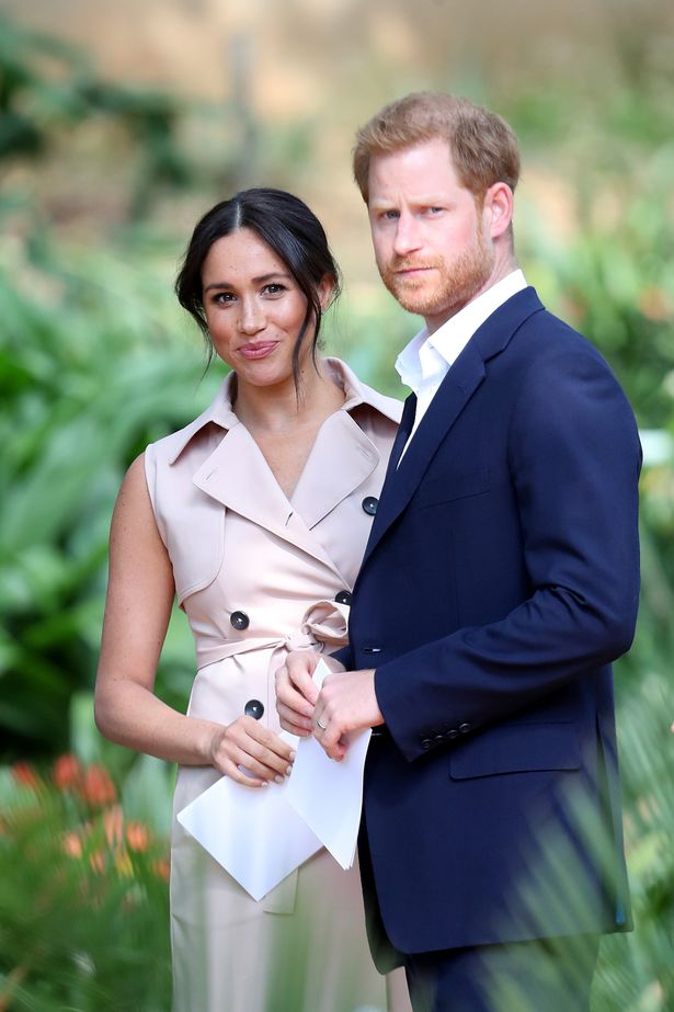 Harry and Meghan before stepping back as senior royals
