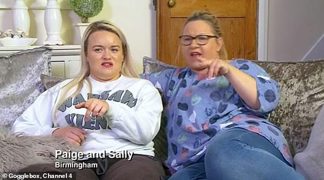 Regulars: The 24-year-old armchair critic has been on the show since 2019 alongside her mother Sally