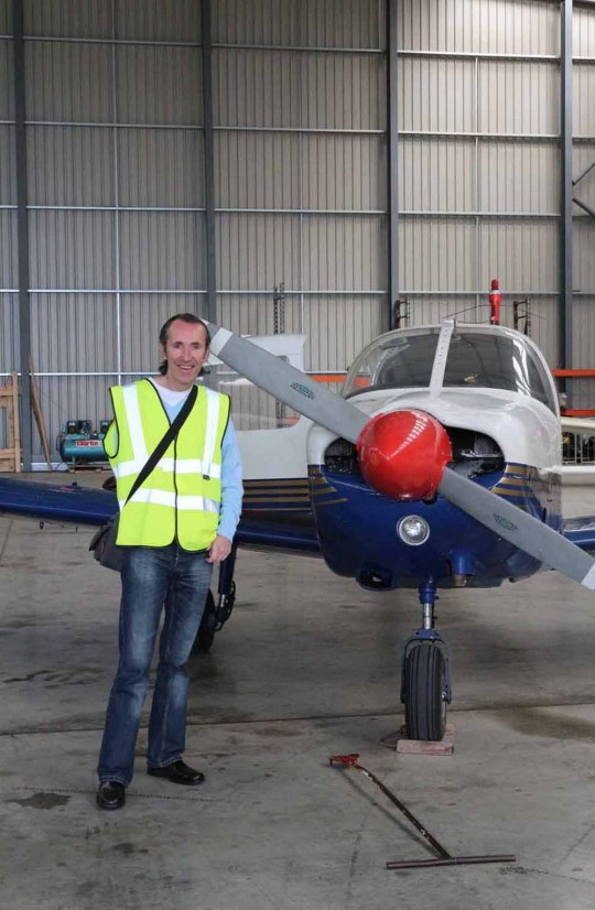 Steve became a pilot in 2015 (Collect/PA Real Life).
