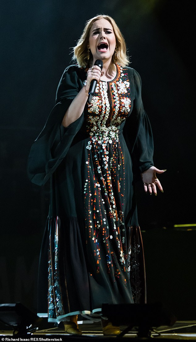 Born entertainer:The alleged December 10 spectacular will mark the 33-year-old's first live performance in over four years, following her record-breaking self-titled stadium tour which concluded in 2017 (pictured in 2016)