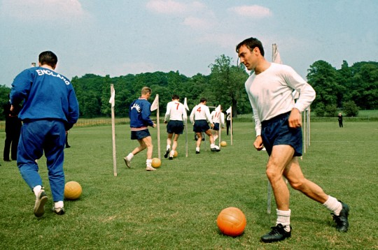 Greaves was in England's 1966 World Cup squad