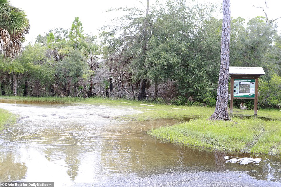 Meanwhile Florida authorities called off the second day of their search for Laundrie at the alligator-infested FloridaCarlton Reserve, where he is believed to be hiding out
