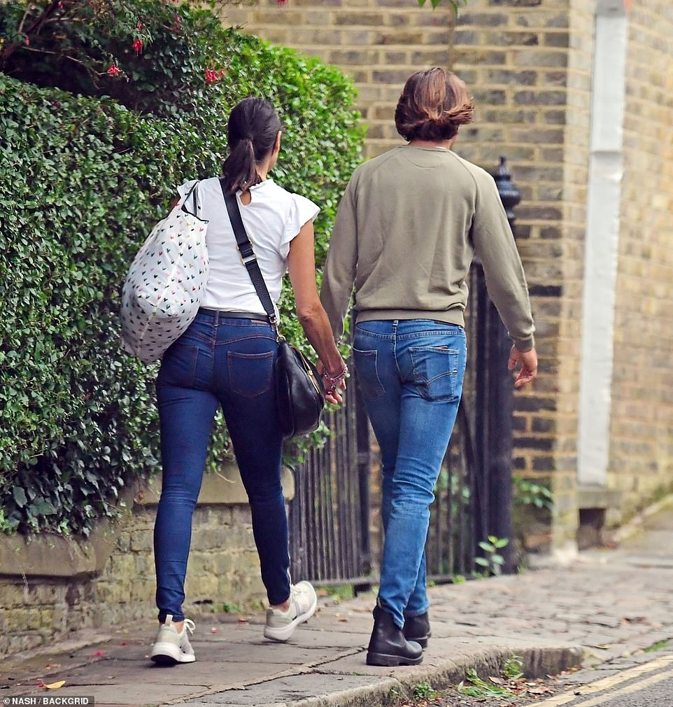 Going strong: The pair enjoyed a six-day fling while Melanie was in Venice on a mini-break with a pal, with their holiday romance soon turning into a long distance relationship
