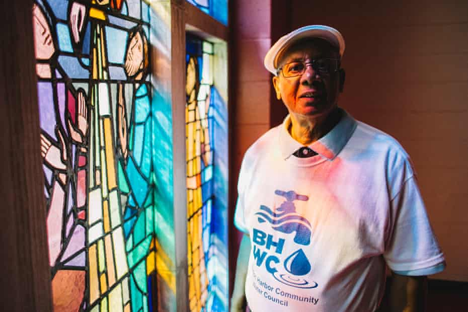 Edward Pinkney, 72: 'We need safe water now. We cannot wait.'