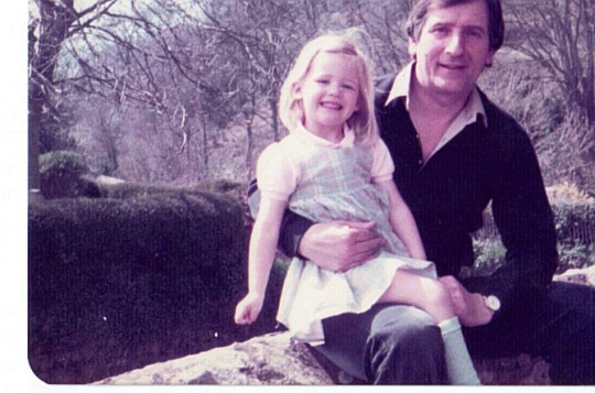 Kate Townshend and dad