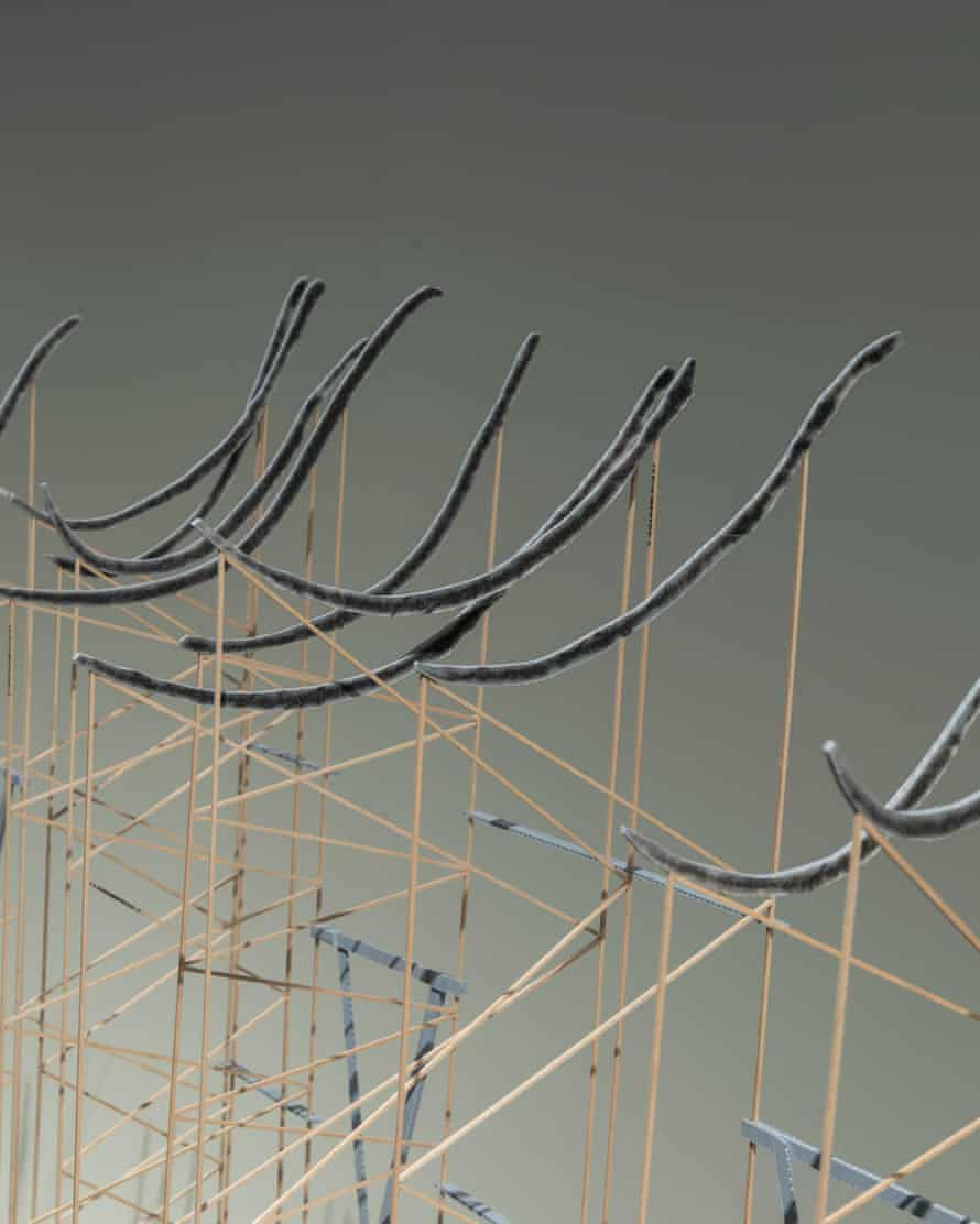 A hundred cresting waves … Golnar Adili's project.