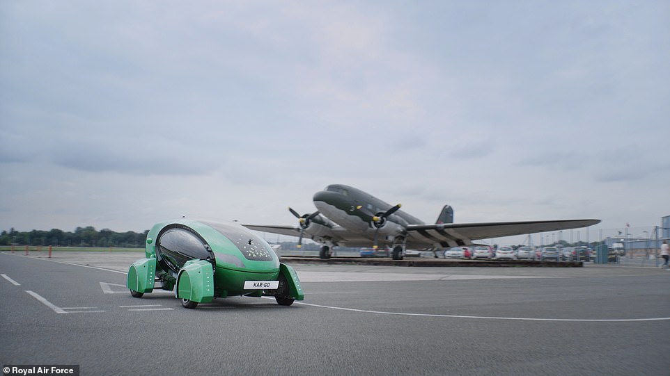 By transporting various cargo, the helpful green vehiclefrees up RAF human personnel from mundane tasks, according to theRoyal Air Force
