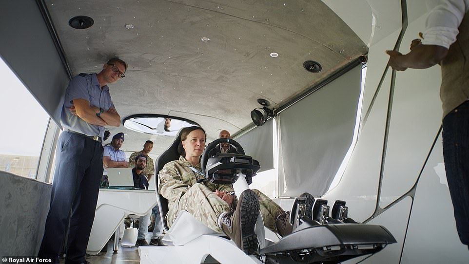 From the Athena command hub, the team can take control of the vehicle remotely if necessary, from a specially-designed command chair, complete with pedals and a steering wheel