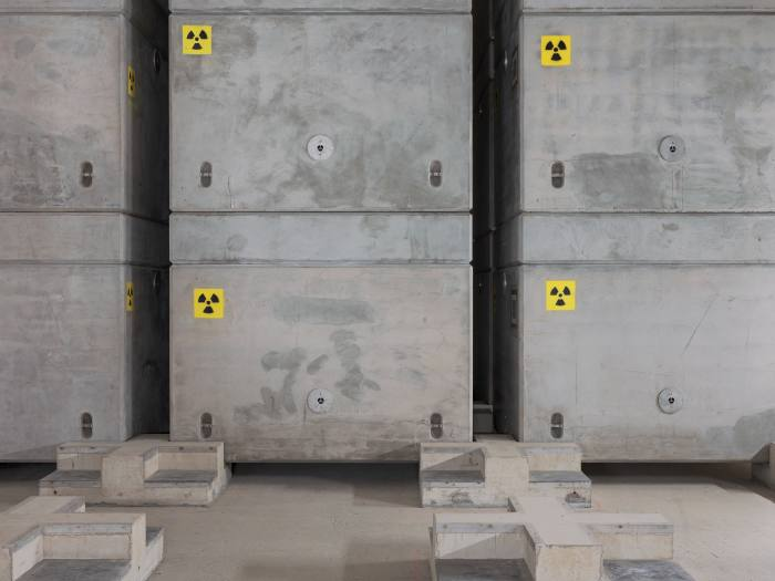 Trawsfynydd's intermediate level radioactive waste 'product' stores