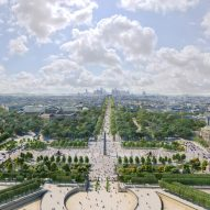 A visual of the Place de la Concorde overhaul by PCA-Stream