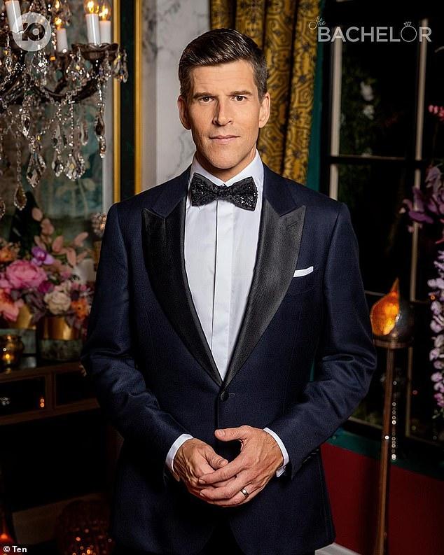 Suits you! Osher rose to fame hosting Foxtel's Channel V before going on to host Australian Idol alongside James Mathison
