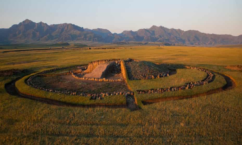 Still treasured … a funeral mound.