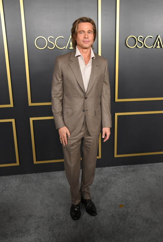 Brad Pitt at the 92nd Academy Awards nominees luncheon