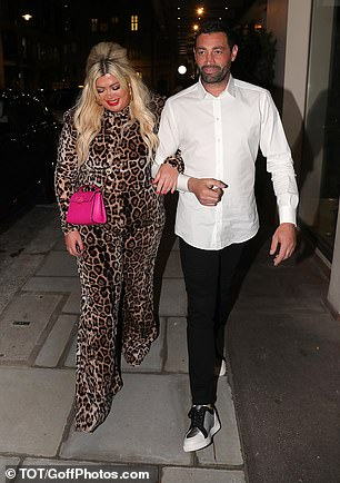 Next steps: The outing comes after Gemma recently revealed that she wants to start a family with Rami next year and will film the journey for a reality show