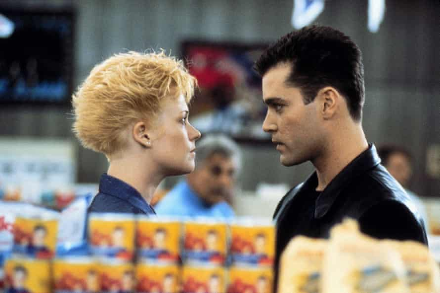 With Melanie Griffith in Something Wild.