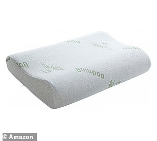 The Ecosafeter Contour Memory Foam Pillow now £33.99