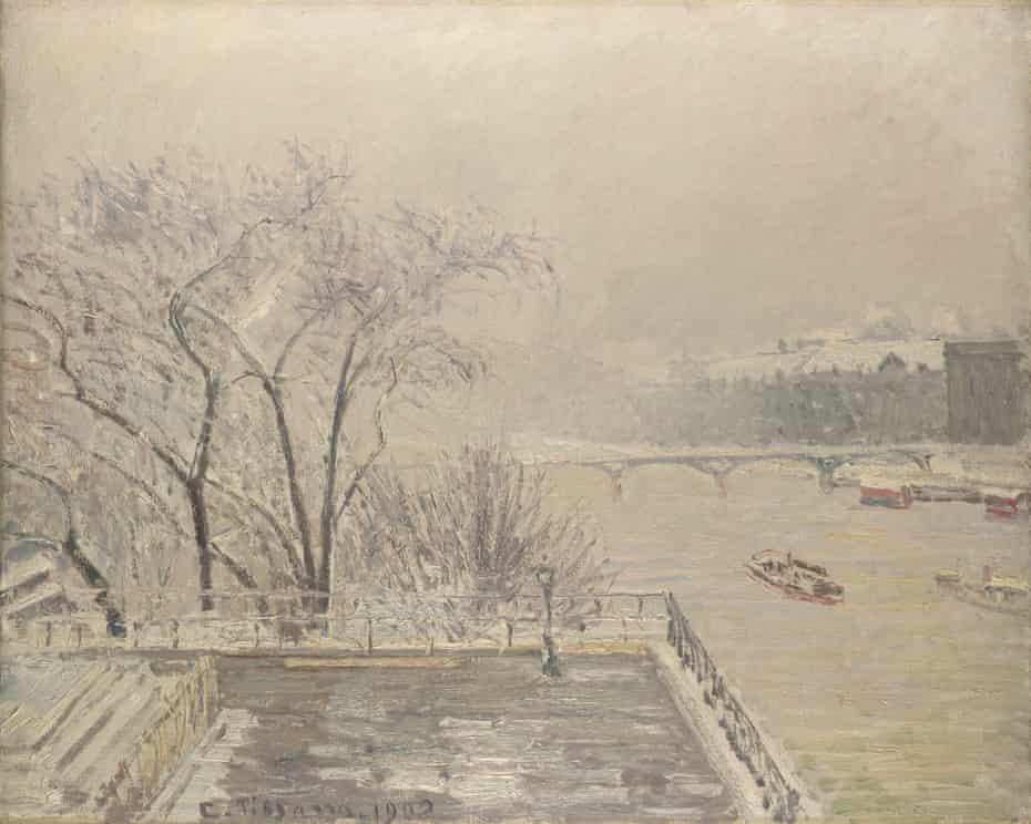 Camille Pissarro. The Louvre under Snow 1902
