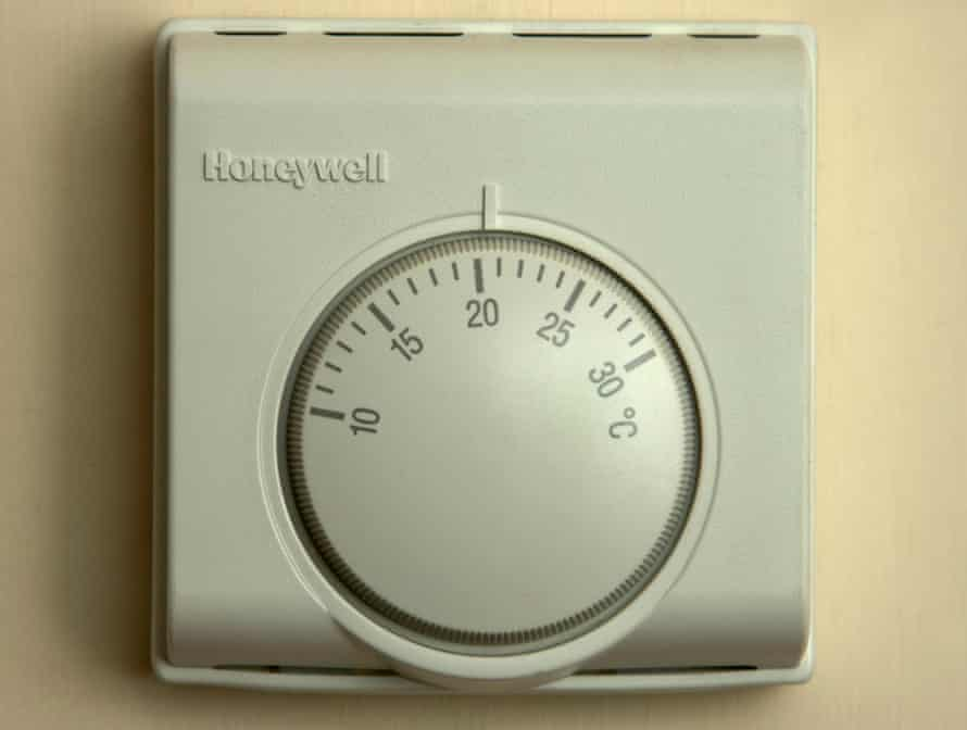 Central heating thermostat.