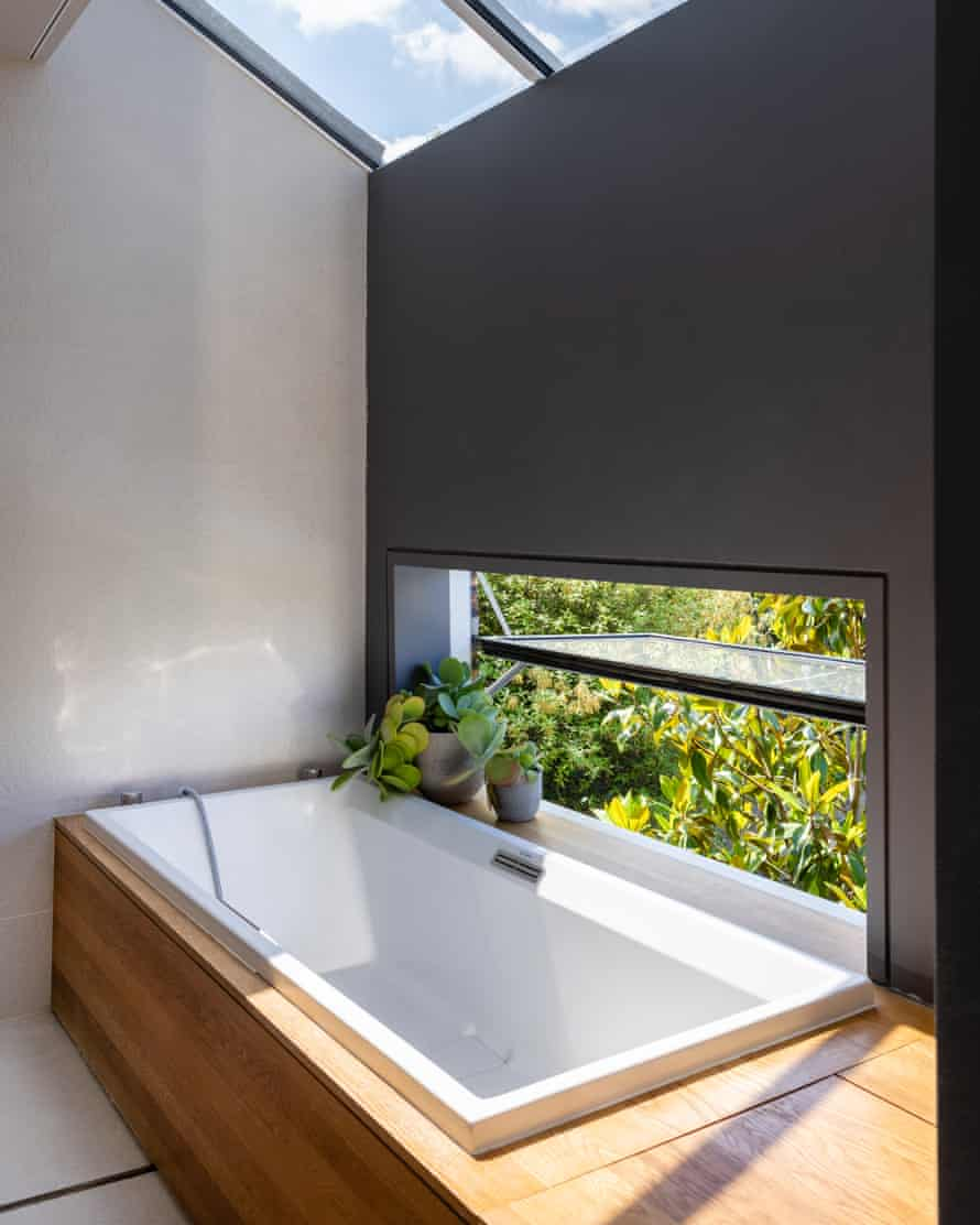 A bath with a view: MAP House.