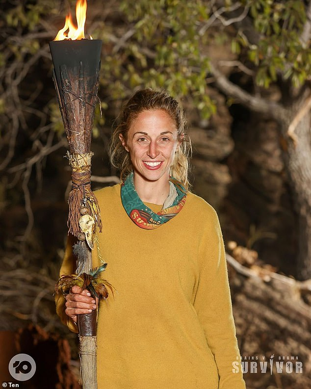 Didn't know!It comes after recent Australian Survivor: Brains v Brawn winner Hayley Leake (pictured) revealed the show filmed two separate scenes announcing both finalists as winners