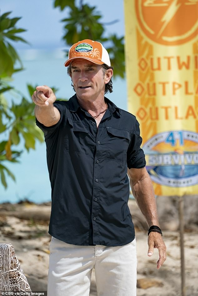 Talks:The 'gendered' statement, considered by some as sexist, was discussed by the host of the US version, Jeff Probst (pictured), during last week's episode. He announced that he will no longer refer to the contestants as 'guys' from now on