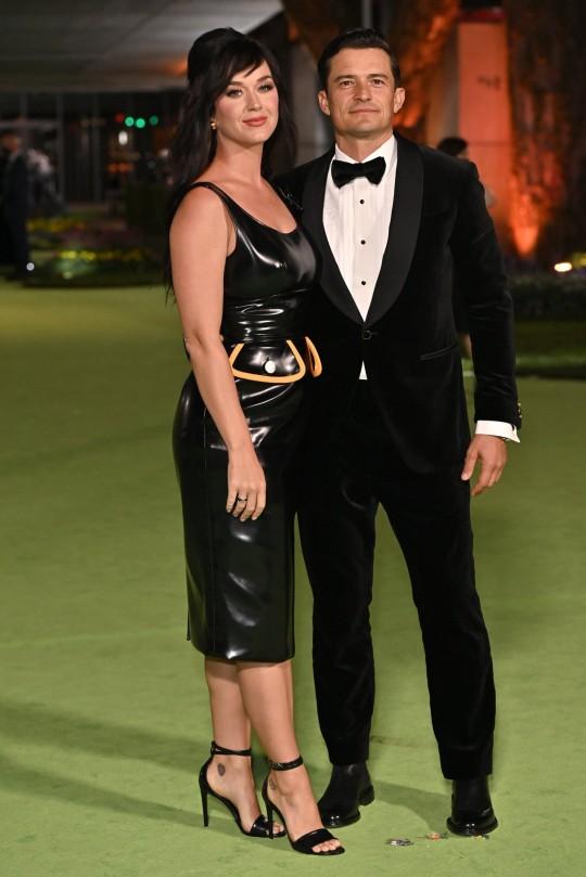 Lady Gaga and Orlando Bloom