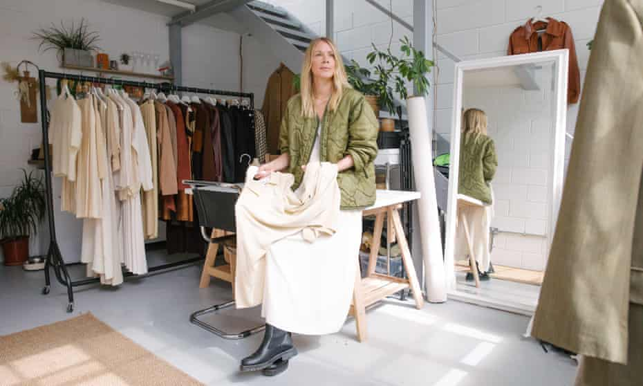 Clare Lewis: 'The clothes are one-offs and treasures.'