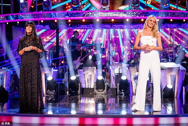 Tuning in: While the number seems far from paltry, this was in fact the BBC's powerhouse series' least-watched 'pairing up' show since its inception [pictured hosts Claudia Winkleman and Tess Daly]