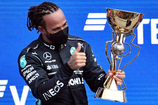 Lewis Hamilton sends classy message to Lando Narros after rain denies him first F1 win