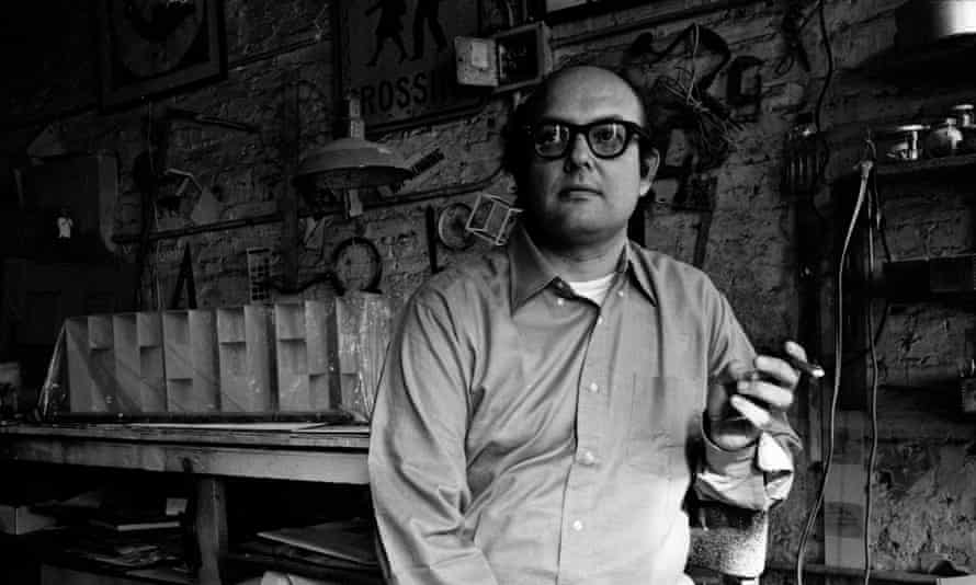 'Don't worry about cool, make your own uncool' … Sol LeWitt in 1969.