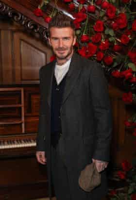 Cottagecore ... David Beckham.