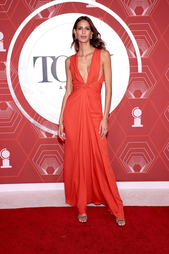 NEW YORK, NEW YORK - SEPTEMBER 26: Jeanne Cadieu attends the 74th Annual Tony Awards at Winter Garden Theater on September 26, 2021 in New York City. (Photo by Dimitrios Kambouris/Getty Images for Tony Awards Productions)