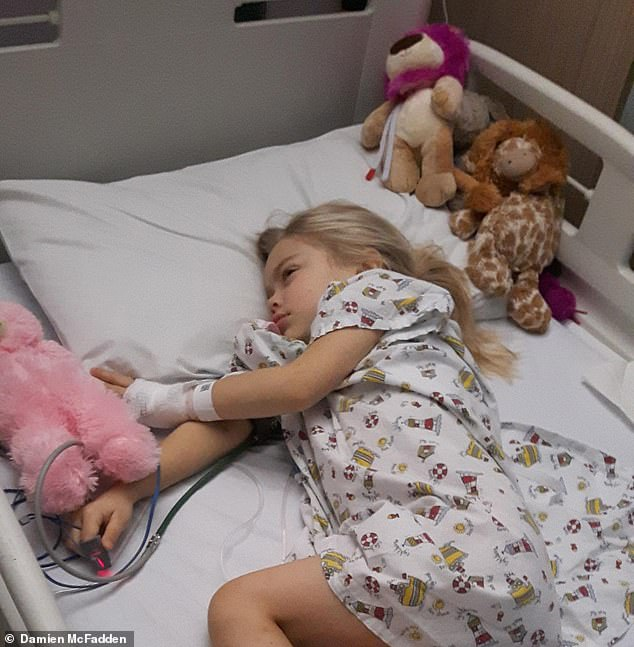 The GP repeatedly assured them it was just a virus, but by Christmas, Suki could only flop lethargically on the sofa. 'She also had bruises all over her legs and night sweats,' says Rachel