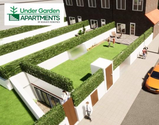 Under Garden Apartments CGI