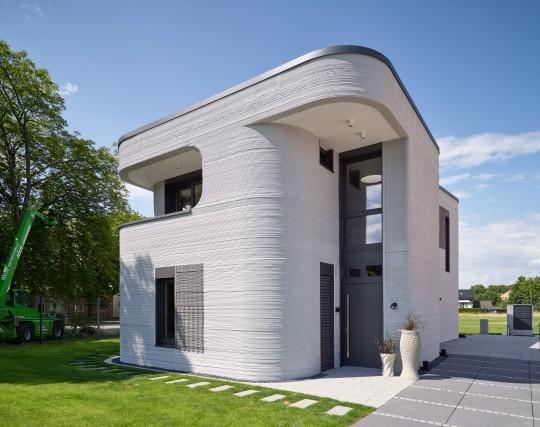 Mense-Korte 3D printed home