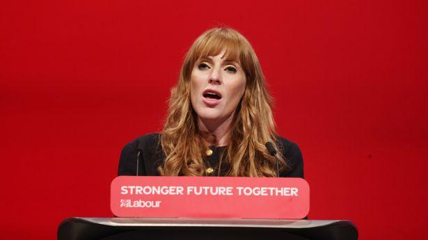 Deputy Labour Leader Angela Rayner