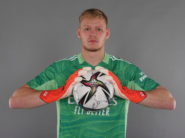 Arsenal signed Aaron Ramsdale from Sheffield United over the summer