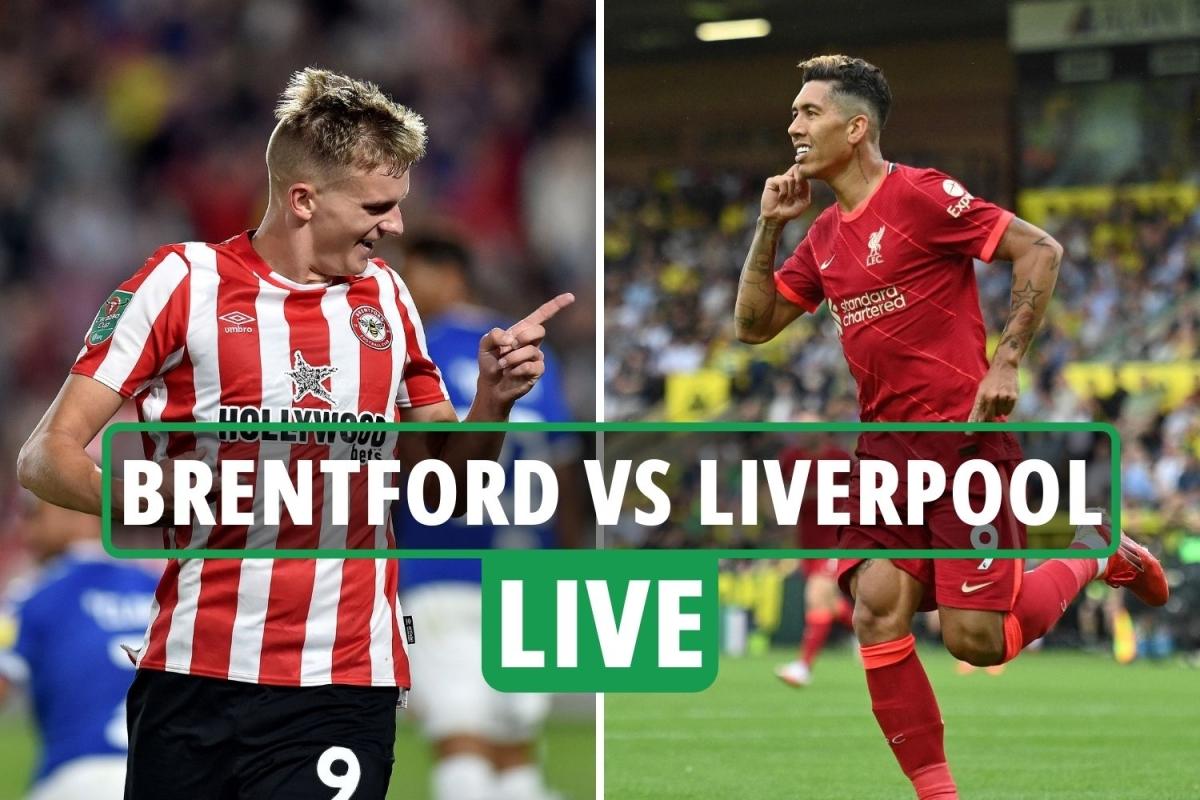 Brentford vs Liverpool LIVE: Stream, score, TV channel ...