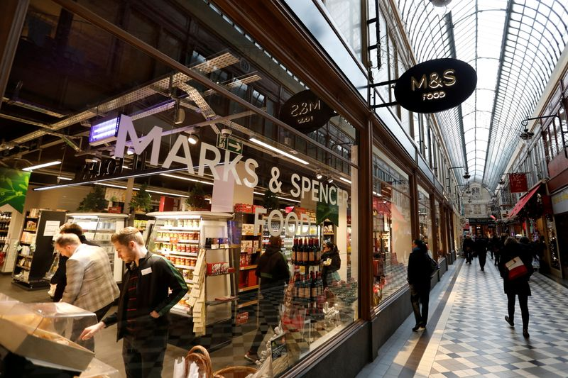 Britain's M&S reviewing future of French stores