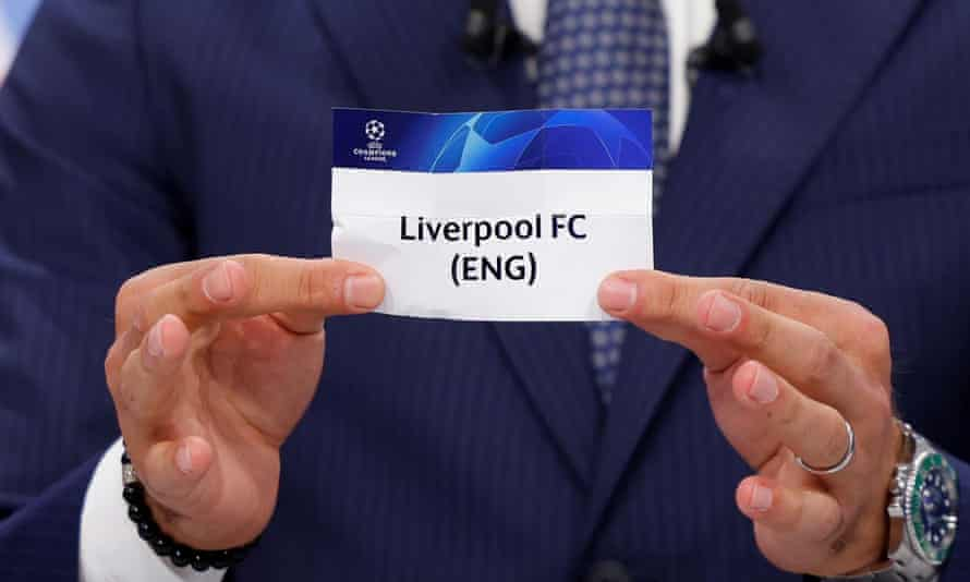 Liverpool are drawn in the eye-catching Group B with the Spanish champions Atlético, Porto and Milan.