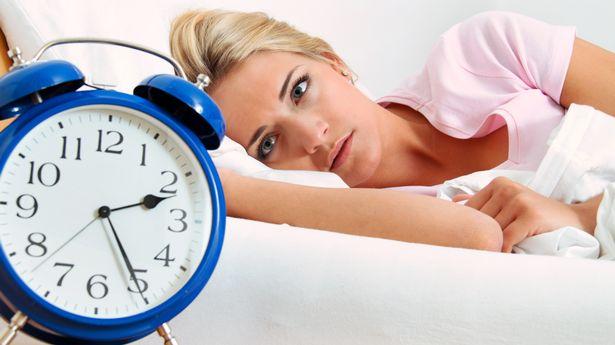The average Brit suffers nine bad nights' sleep per month