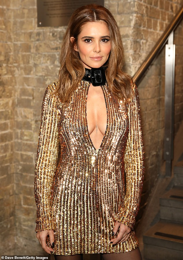 'I am not able to': Cheryl, 38, has pulled out of her scheduled Birmingham Pride performance, as she continues to grieve for Sarah Harding following her death aged 39 (Pictured in 2019)