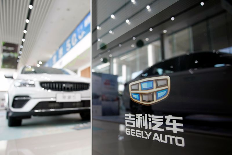 China's Geely to set up 5,000 battery swapping stations by 2025