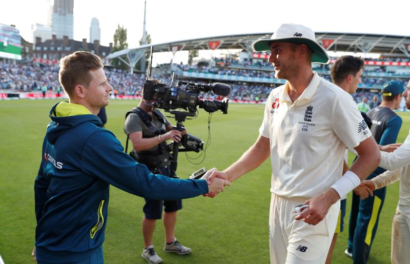 Cricket-Broad urges ECB to ensure players comfortable for Ashes tour amid travel curbs