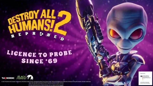 Destroy All Humans 2 remake artwork