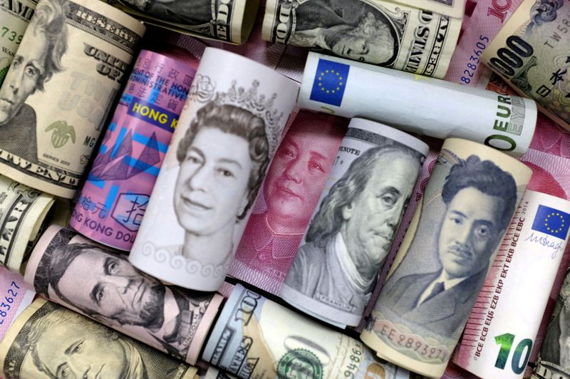 Dollar boosted by U.S. Treasury yields surge; British pound drops