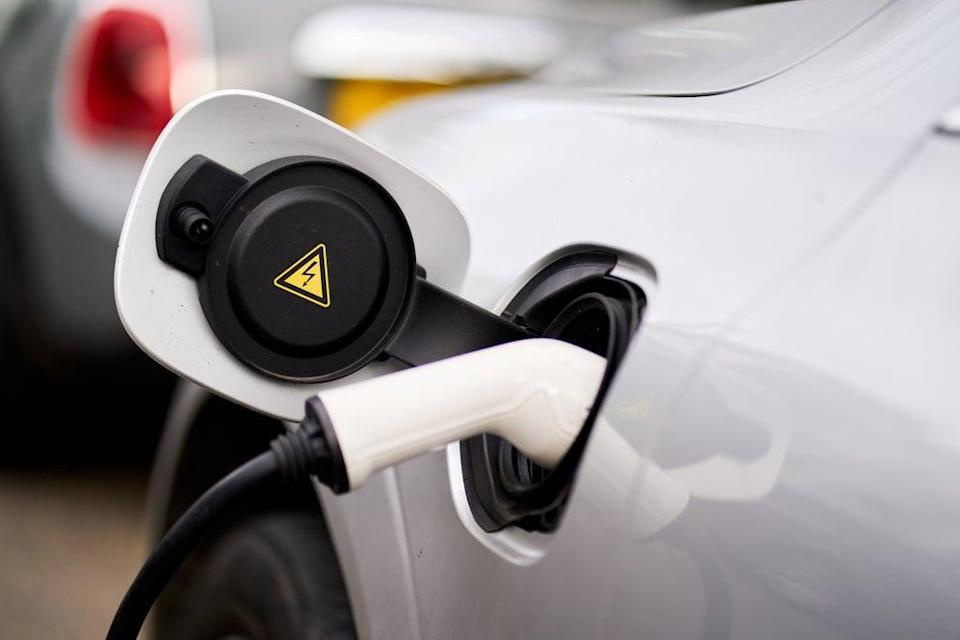 Demand for battery electric vehicles has increased by more than 30per cent in the past year  (PA Archive)