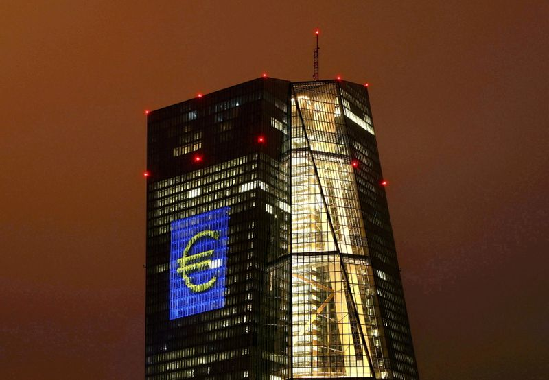 Euro zone bond yield tumble, markets relieved at ECB cautious move